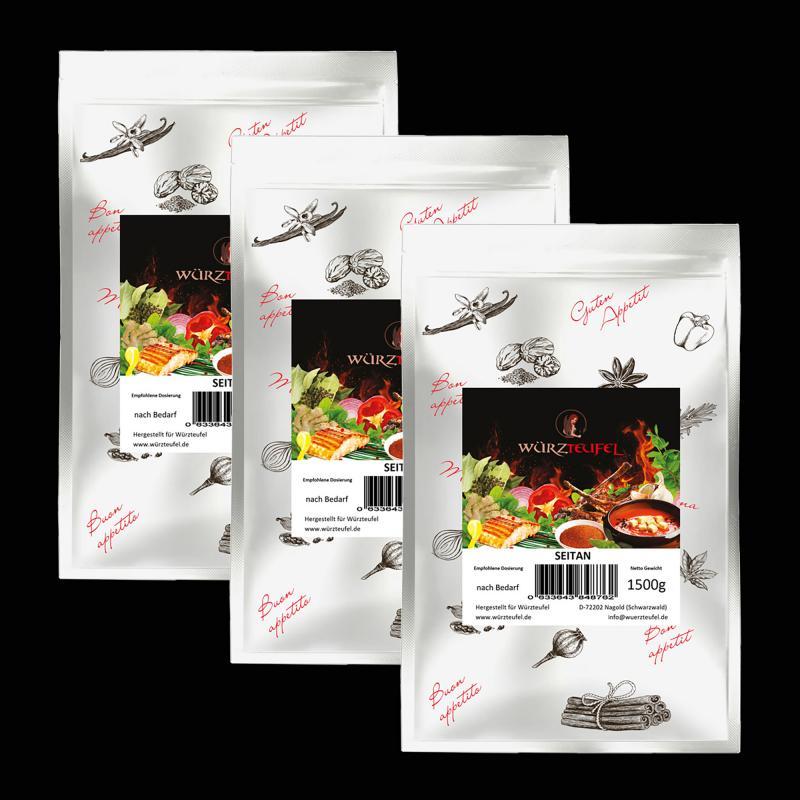 Seitan, Weizenprotein Weizengluten
